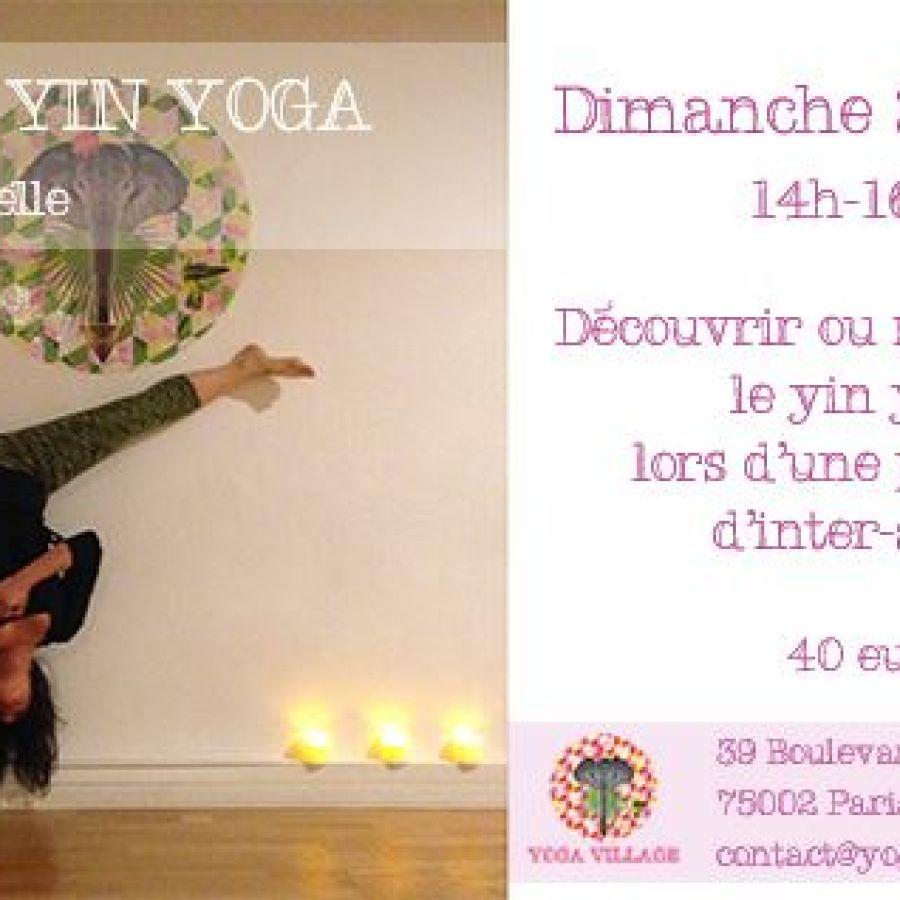 Atelier de yin yoga du 26 avril 2015
