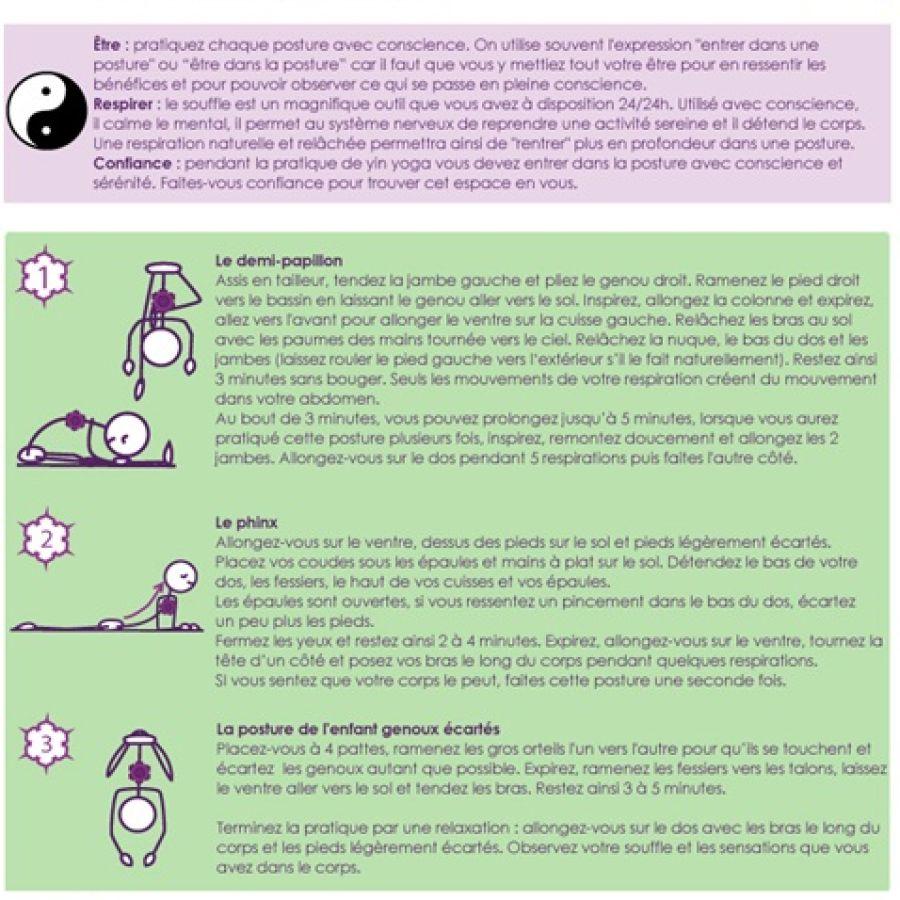 Fiche 19 – Yin Yoga