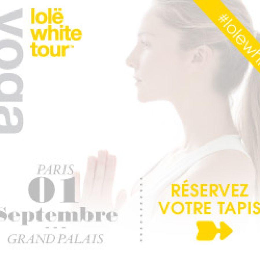 Lolë White tour à Paris !