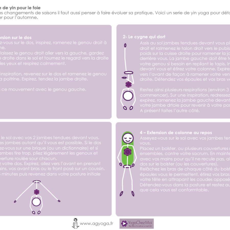 Fiche 30 – Pratique pour le foie (yin yoga)