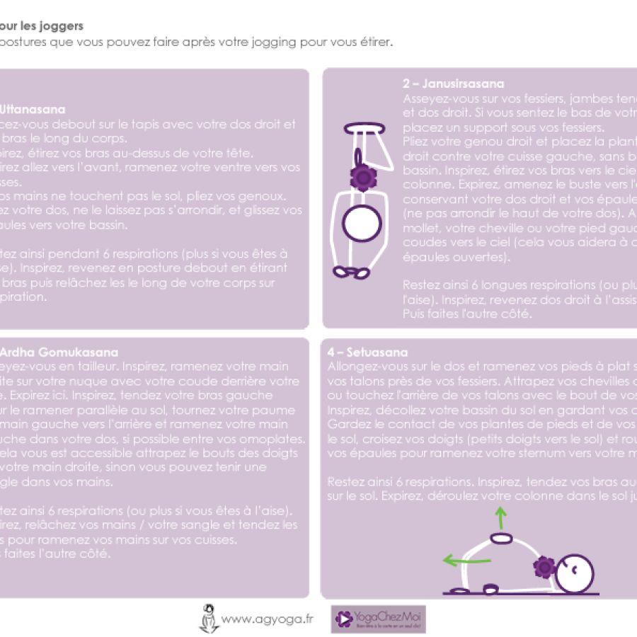 Fiche 31 – Pratique pour les joggers