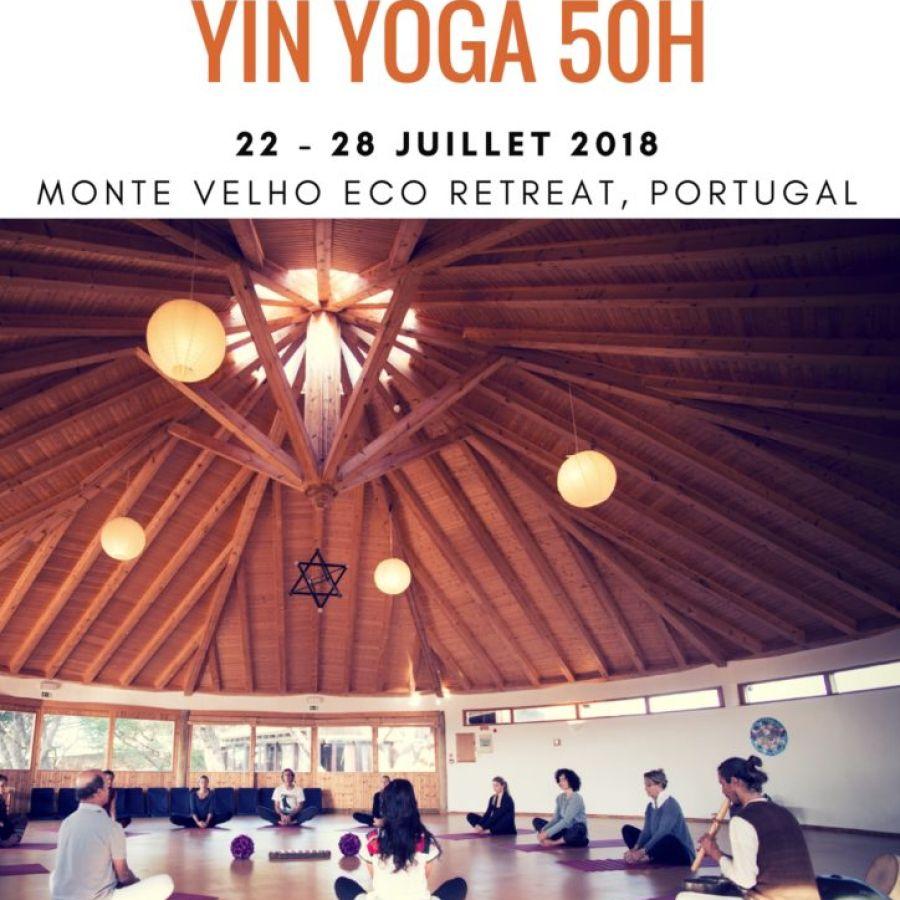 COMPLET || Formation Yin Yoga 50h || 22-28 JUILLET 2018 || ALJEZUR, PORTUGAL