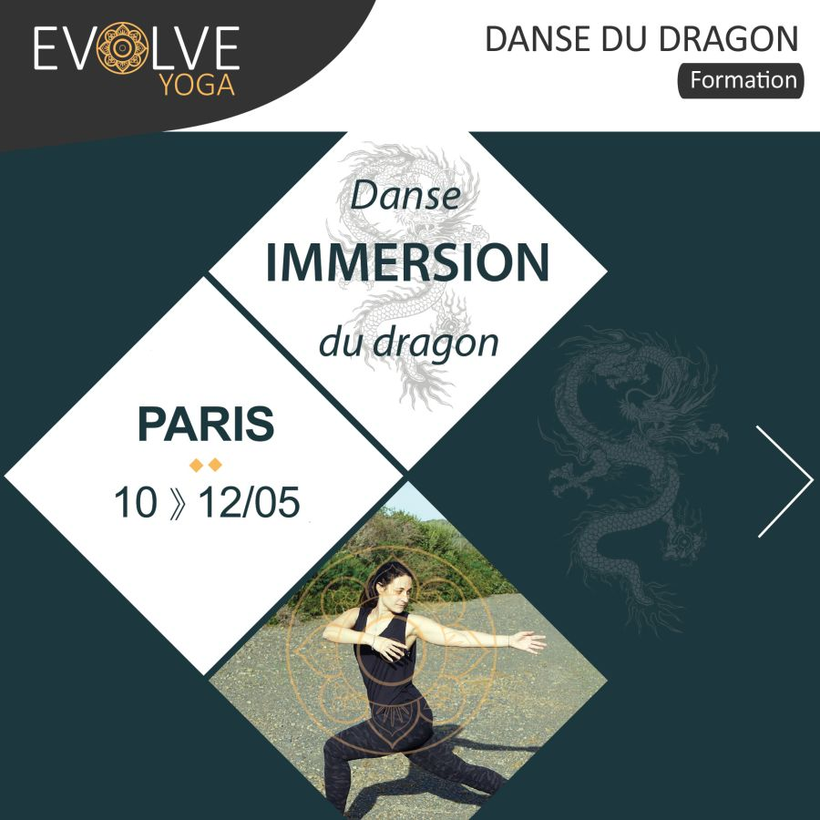 Danse du dragon : la pratiquer & l'enseigner ▲ 10 AU 12 MAI 2019 ▽ PARIS, FRANCE