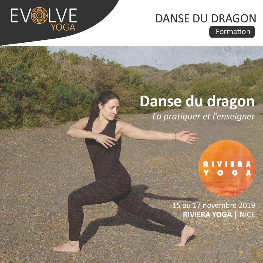 Danse du dragon : la pratiquer & l'enseigner ▲ 15 AU 17 NOVEMBRE 2019 ▽ NICE, FRANCE