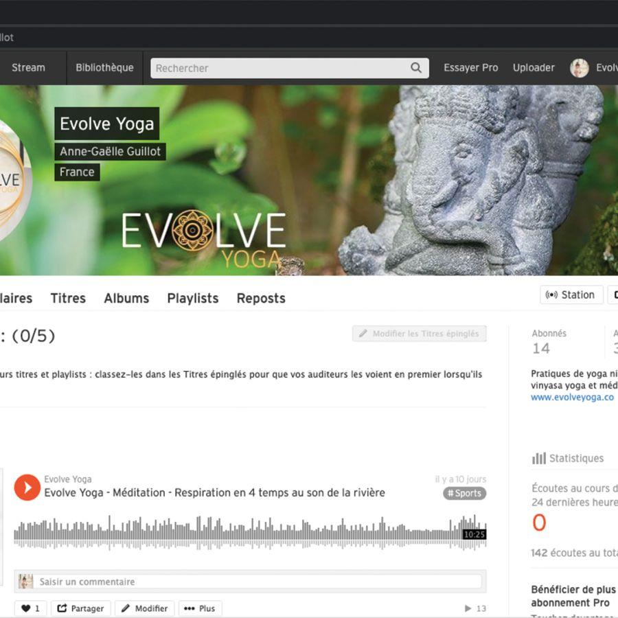 Evolve Yoga sur SoundCloud