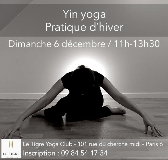 Yin yoga – Pratique d'hiver
