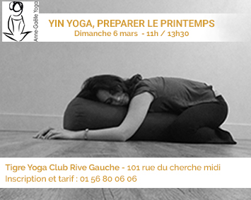 Yin yoga – Pratique de printemps
