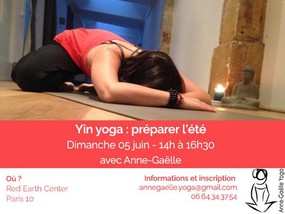 Yin yoga : préparer l'été – Paris