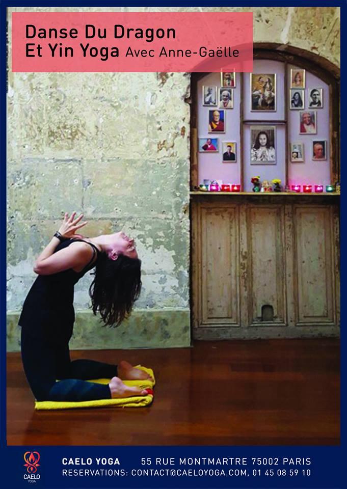 Réveillez votre feu / Ouvrez votre coeur : danse du dragon et yin yoga – Paris