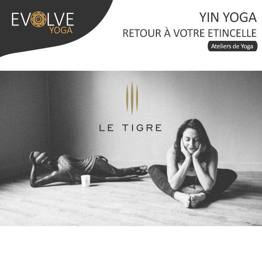 COMPLET    Yin yoga : retour à votre étincelle    12 NOVEMBRE 2017    PARIS, FRANCE
