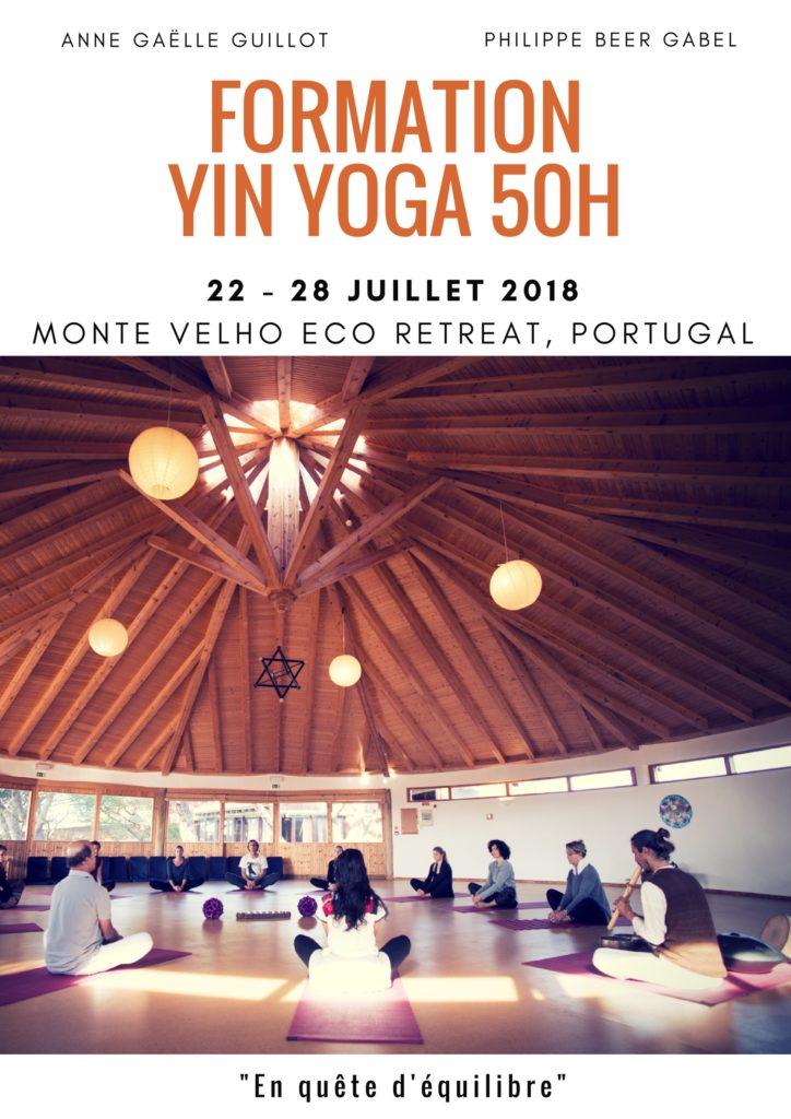 Formation Yin Yoga 50h || 22-28 JUILLET 2018 || ALJEZUR, PORTUGAL