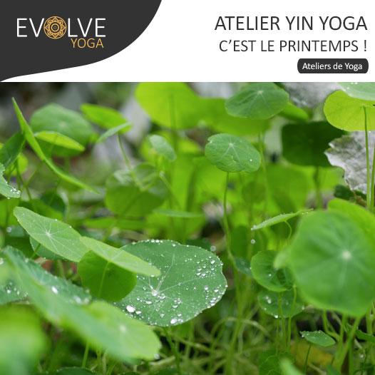 COMPLET || Yin yoga || 24 MARS 2018 || PARIS, FRANCE