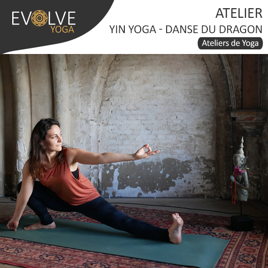 COMPLET || Danse du dragon & yin yoga || 16 FEVRIER 2019 || PARIS, FRANCE