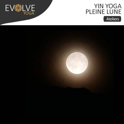 Mini-atelier mensuel de yin yoga : Pleine lune ☾• 19 MARS 2019 •☽ PARIS, FRANCE