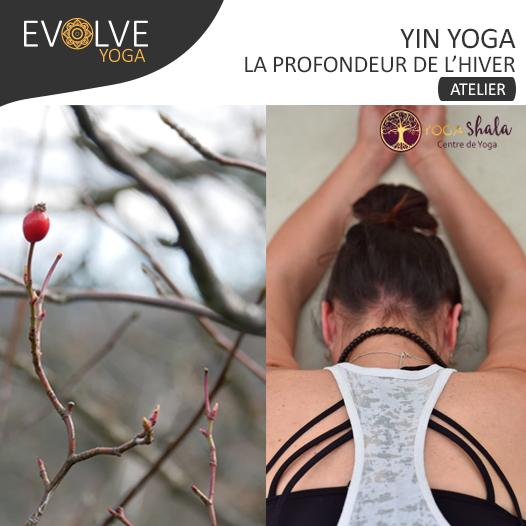 COMPLET ||Yin yoga, la profondeur de l'hiver ☾ 30 NOVEMBRE 2019 ☾ RENNES, FRANCE