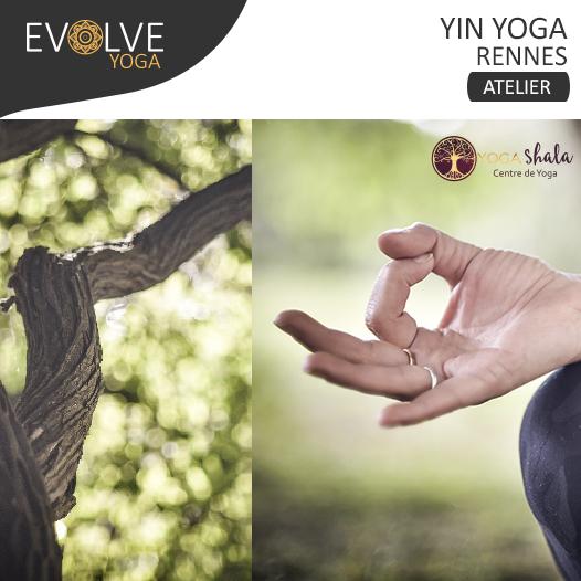 COMPLET ↠ Yin yoga, le souffle du printemps ☾ 15 FEVRIER 2020 ☾ RENNES, FRANCE