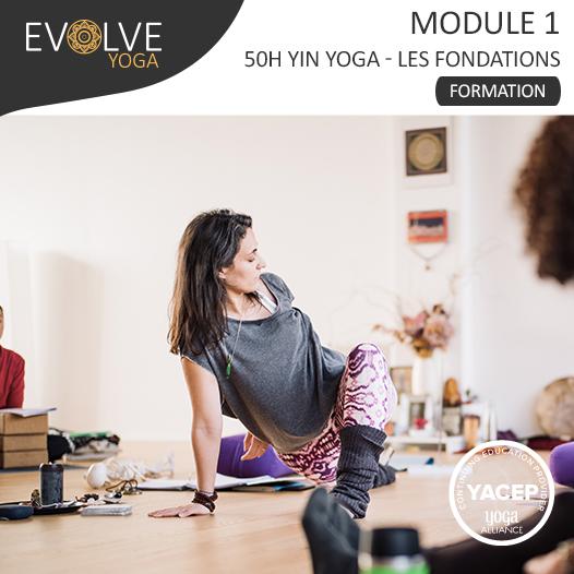 Module 1 «Les Fondations» Formation 50h YinYoga  ☾• 20 AU 25 JUILLET 2020 ☾• RENNES, FRANCE