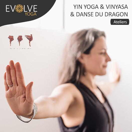Yin yoga & Danse du dragon ☾• 11 & 12 JUIN 2021 •☽ GENEVE, SUISSE