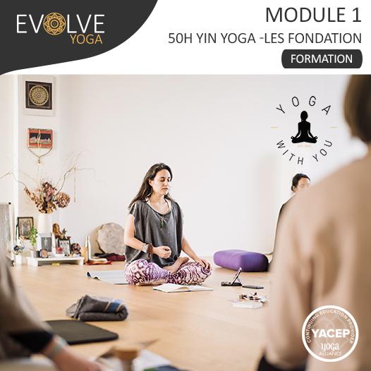 Module 1 Les Fondations Formation 50h YinYoga ☾• 05 AU 10 JUILLET 2021 ☾• BORDEAUX, FRANCE