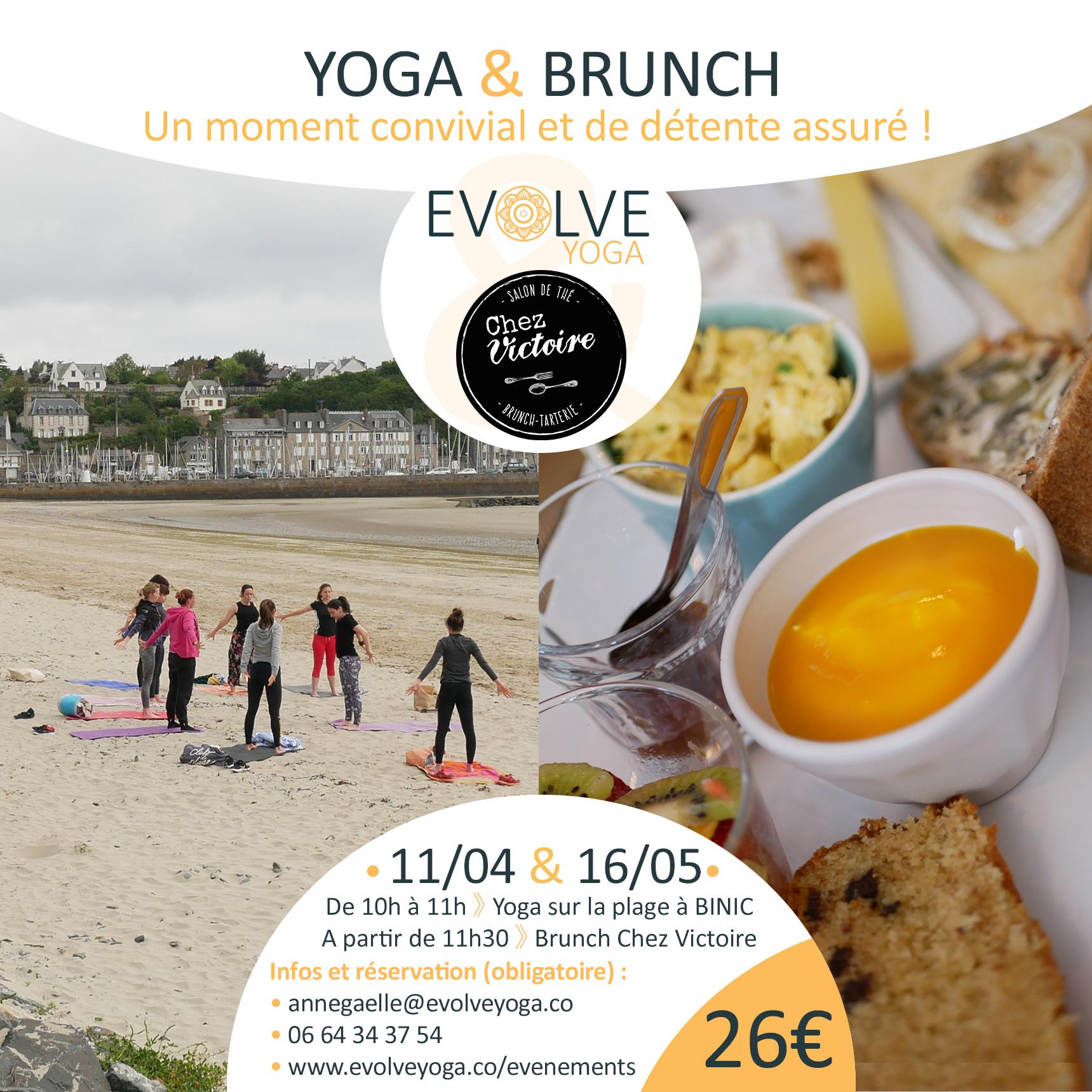 Yoga'Brunch ▲ 11/04 ▽ BINIC, FRANCE