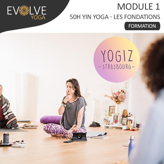 Module 1 Les Fondations Formation 50h YinYoga ☾• 05 AU 09 JUILLET 2021 ☾• STRASBOURG, FRANCE